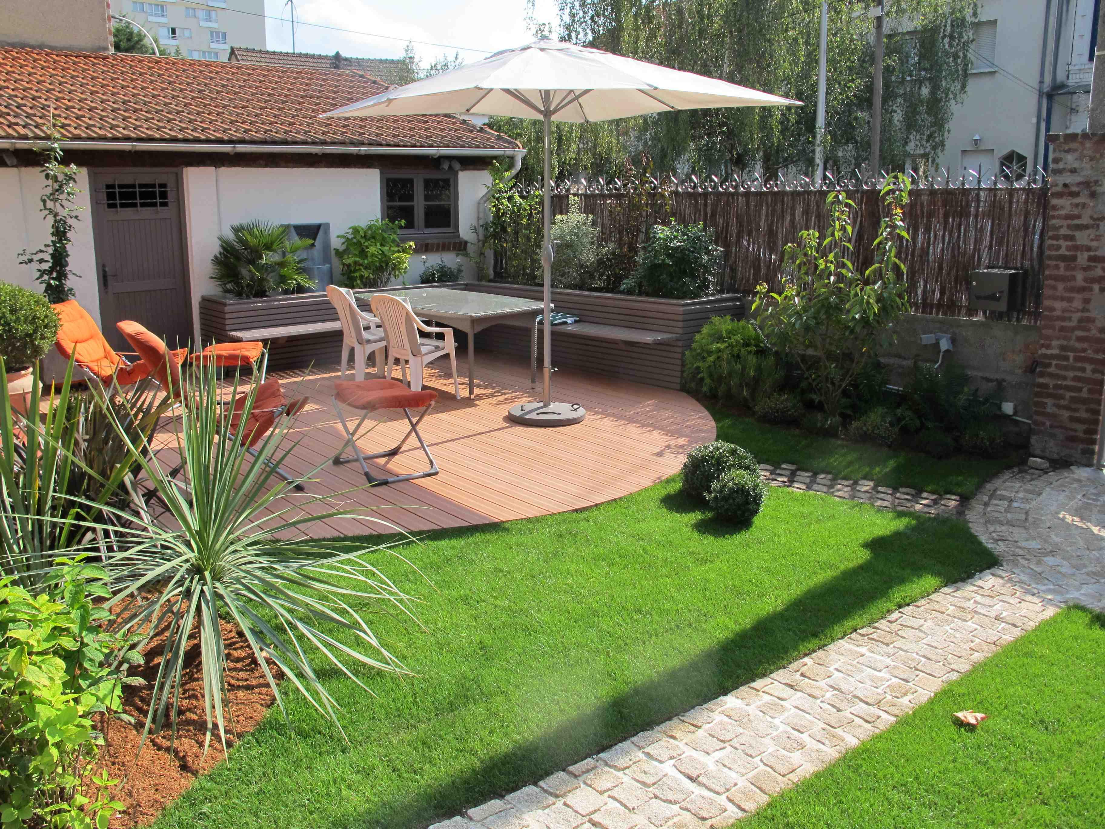 Comment Amenager Un Mur De Jardin cinq étapes pour aménager un jardin - habitation & travaux !