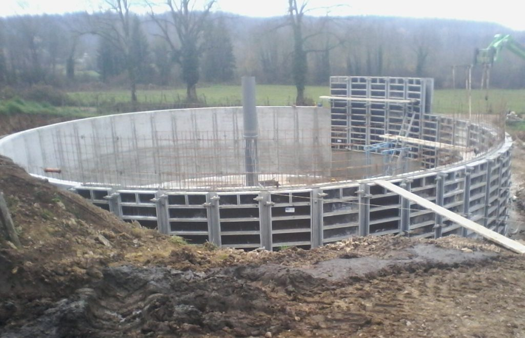 construction béton