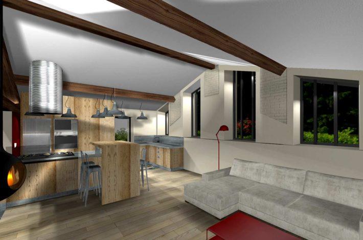 Transformer une maison classique en maison moderne for Maison classique moderne