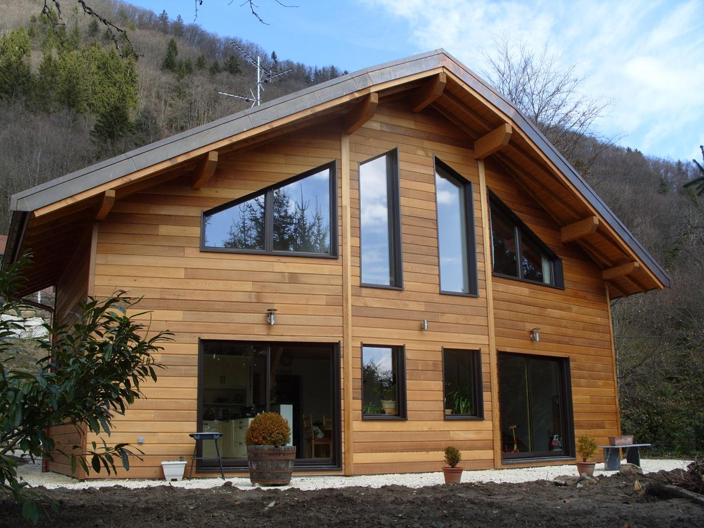 Guide rapide pour une construction de maison en bois for Bois construction maison