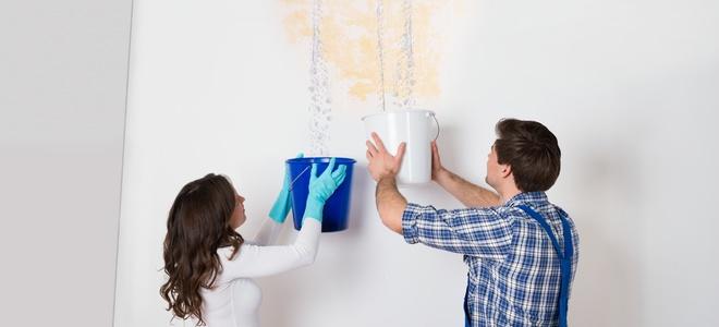 comment r parer un probl me de fuite d eau en clin d il. Black Bedroom Furniture Sets. Home Design Ideas
