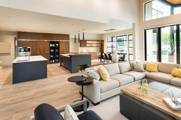d limiter l espace entre un salon et une salle manger. Black Bedroom Furniture Sets. Home Design Ideas