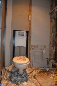 Travaux WC